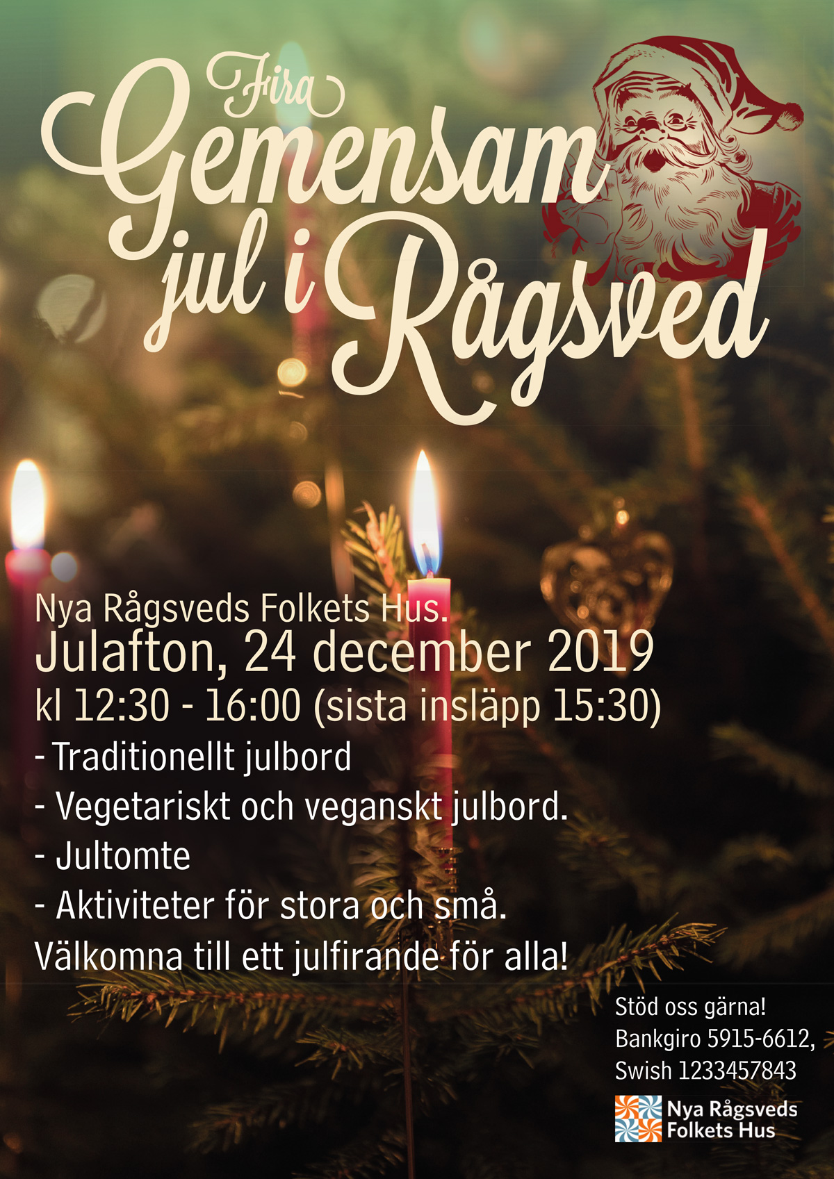 Gemensam jul i Rågsved 2019