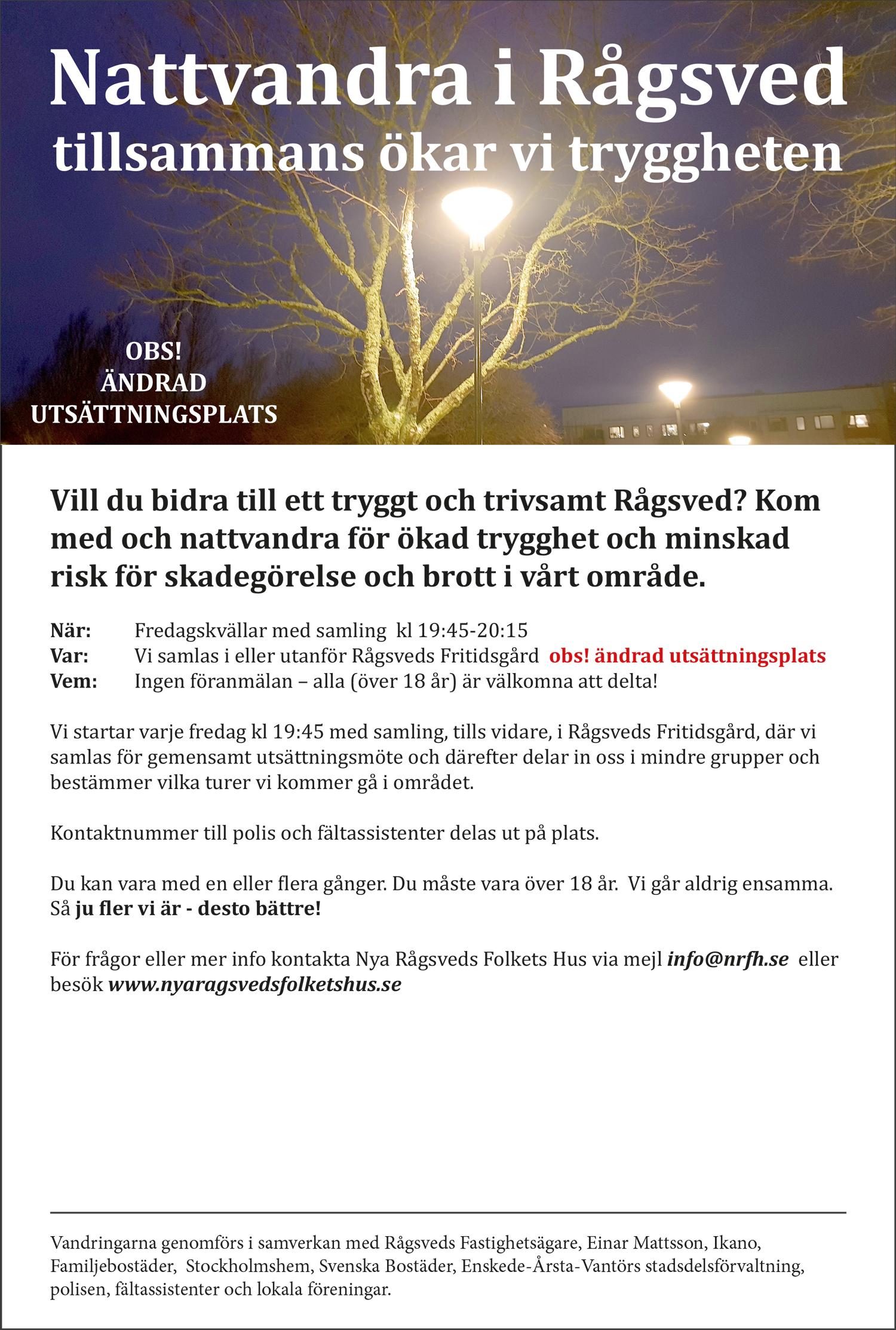 Nattvandra i Rågsved 2020