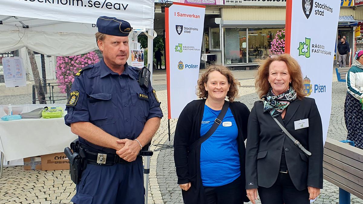 Micke Sundberg, Åsa Windfridsson och Lotta Widén
