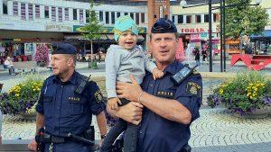 Polisen på trygghetsdagarna 2020
